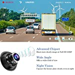 【2021 New Version】CHORTAU Mirror Dash Cam 4.8 Inches Touch Screen Full HD 1080P, Wide Angle Front Camera and Waterproof…