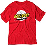 youth big bang theory t shirts - BSW Youth Bazinga! Big Bang Theory Sheldon Cooper Shirt LRG Red