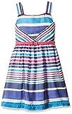 Nauti Nati Girls' Casual Dress (NSS16-183_Lilac_7 Years)