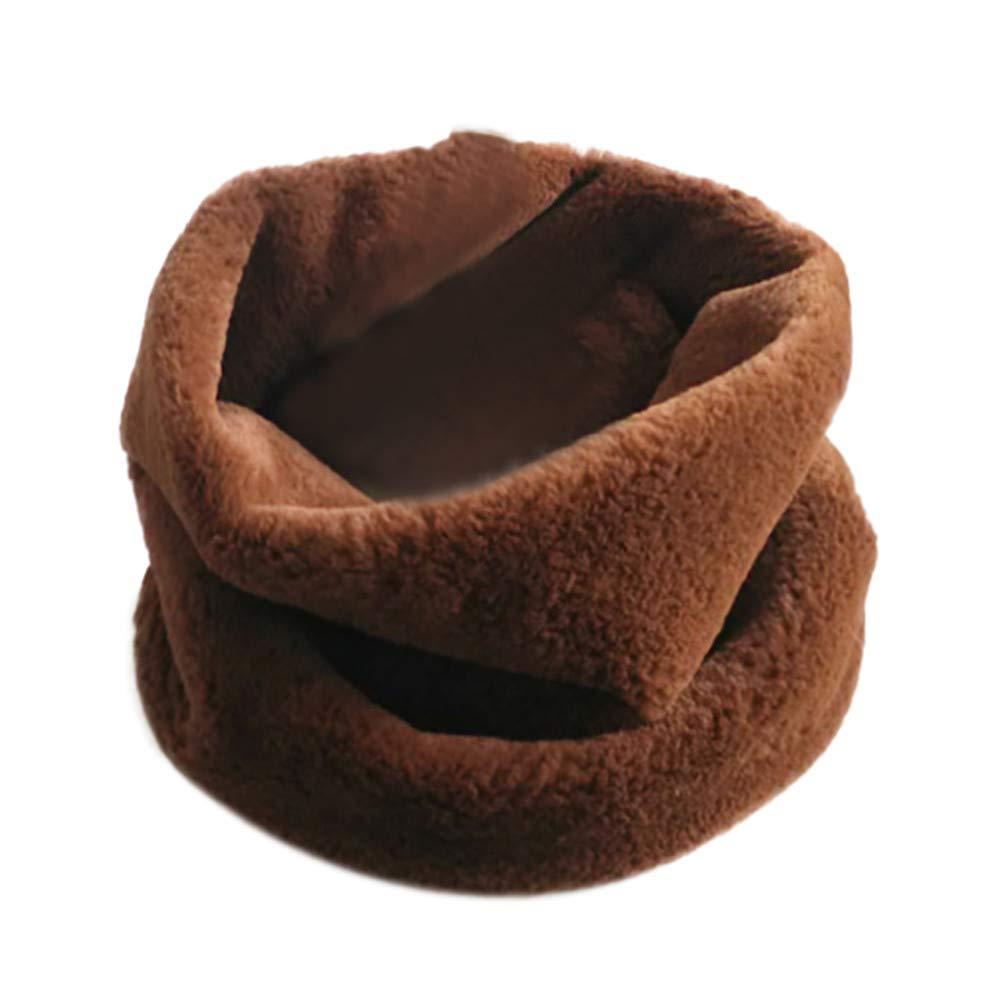 Women's Faux Fur Collar Gaiters Scarf Clearance, Iuhan Women Ladies Winter Warm Ring Neck Warmer Wrap Collar Scarf Neck Warmer (F)