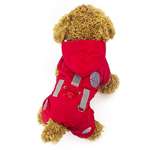 Dog Puppy Raincoat - 4