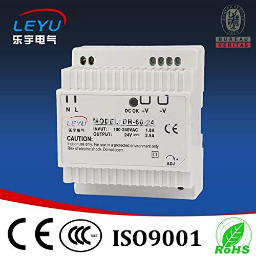 Utini AC DC din Rail 12v 5 amp Power Supply