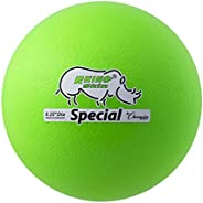 Champion Sports RS85NGN Rhino Skin Special Ball, Neon Green