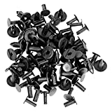 GOOACC nailon parachoques Fastener Clips Automotive Kit de montaje de muebles tornillos de expansión Auto cuerpo Clips 8mm–40