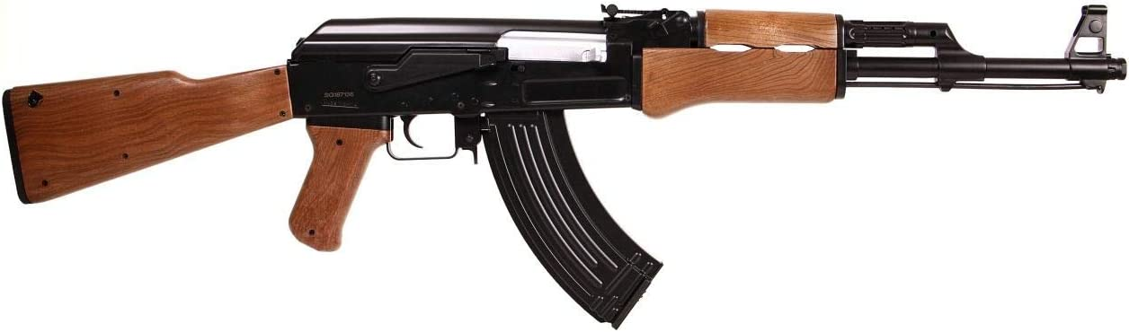 SAIGO Rifle Airsoft AK47 AEG ABS/Electric (0.5 Joule) - Semi/Full Automatic