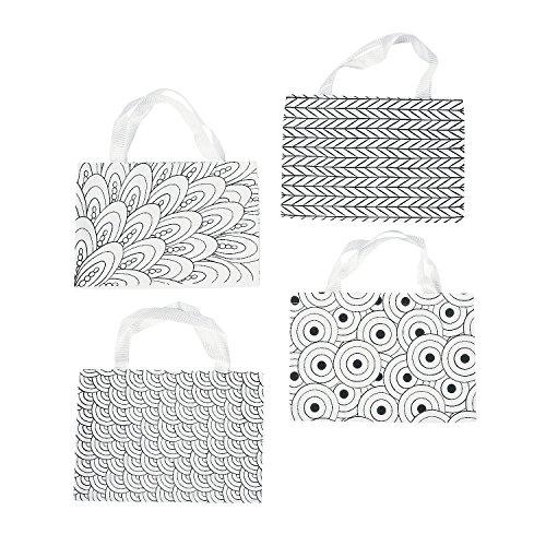 Fun Express - Cyo Canvas Doodle Tote Bag - Craft Kits - CYO - General - Fabric - 12 - Express Tote
