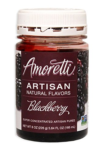 Amoretti Blackberry Artisan Fruit Puree 8 Oz