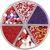 Wilton Valentine's Day Mix Sprinkle Assortment, 7.1 Ounce
