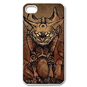 iphone covers New Fashion Case Amazing Painting Design After with Cheshire Cat Quotes water We Are All Mad Your Here Cl8EYdUY9N1 Thin & Strong Plastic case cover for the Iphone 5 5s
