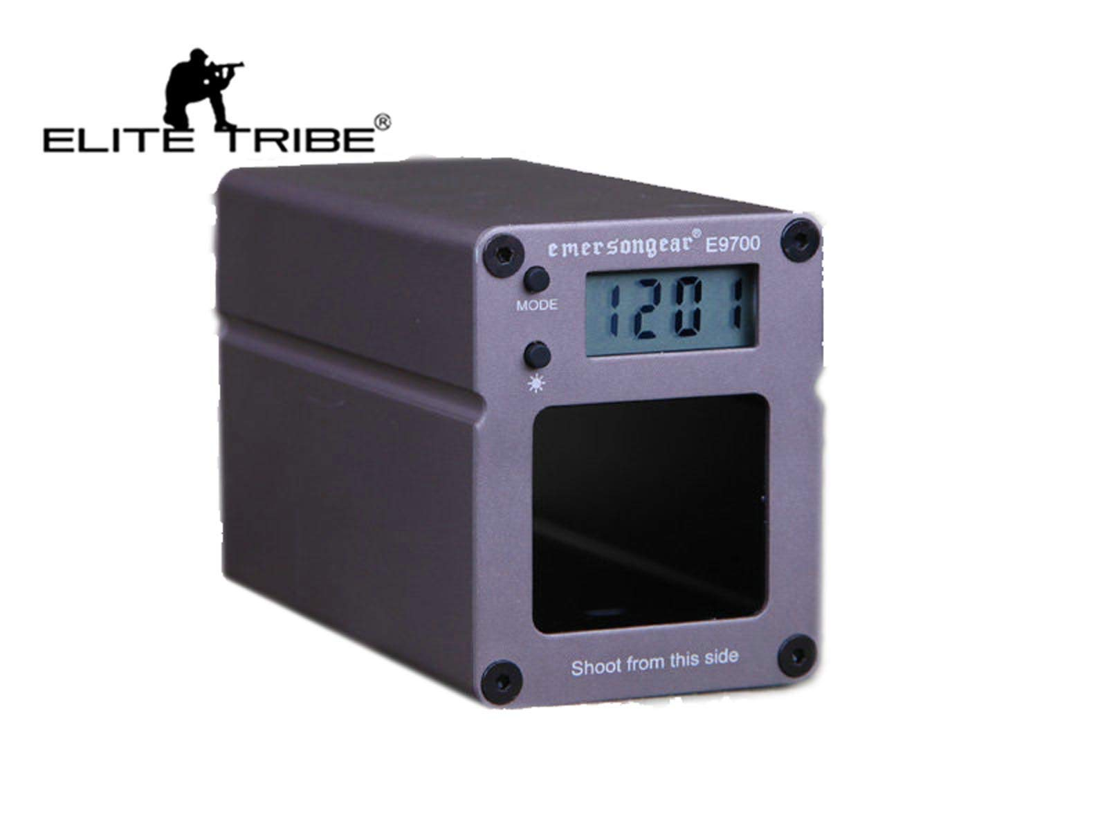 E9700 Shooting Chronograph Speed Examiner with Pixel Tactical Airsoft and Accuracy by Elite Tribe