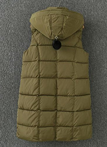 UK Sleeveless Warm Thicken Womens Down Hot Puffer Jacket 1 Hooded Sale Vest 6wqOc5T