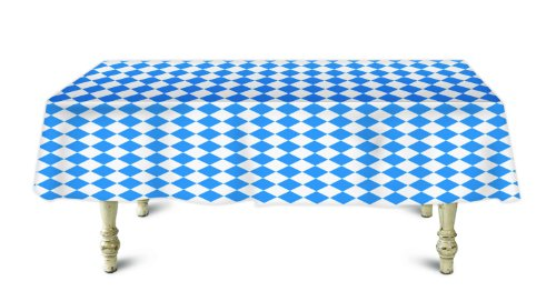 Bavarian Check Banquet Roll Table Cover - 100 ft