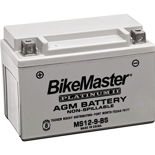 (BikeMaster AGM Platinum II Battery MS12-12AL-A)