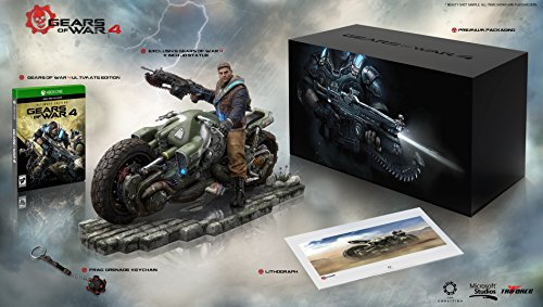 (Amazon Exclusive: Gears of War 4 Collector's Edition - Outsider Variant (Includes Ultimate Edition SteelBook + Season Pass) - Xbox One)