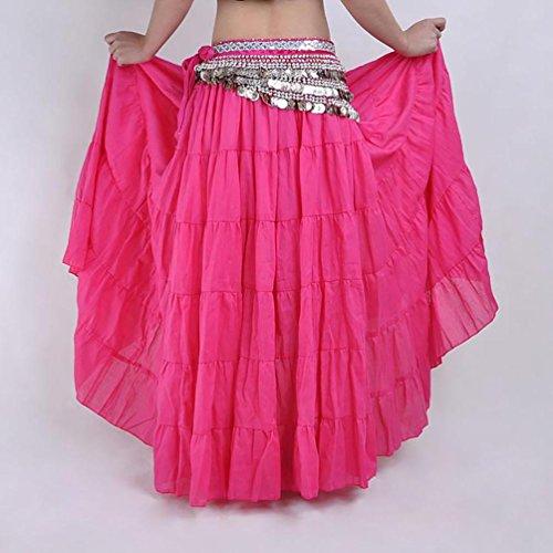 Lunga Danza Boemia Costume Halloween Rose Donne Stile Del Ventre Yijee XdAZqX