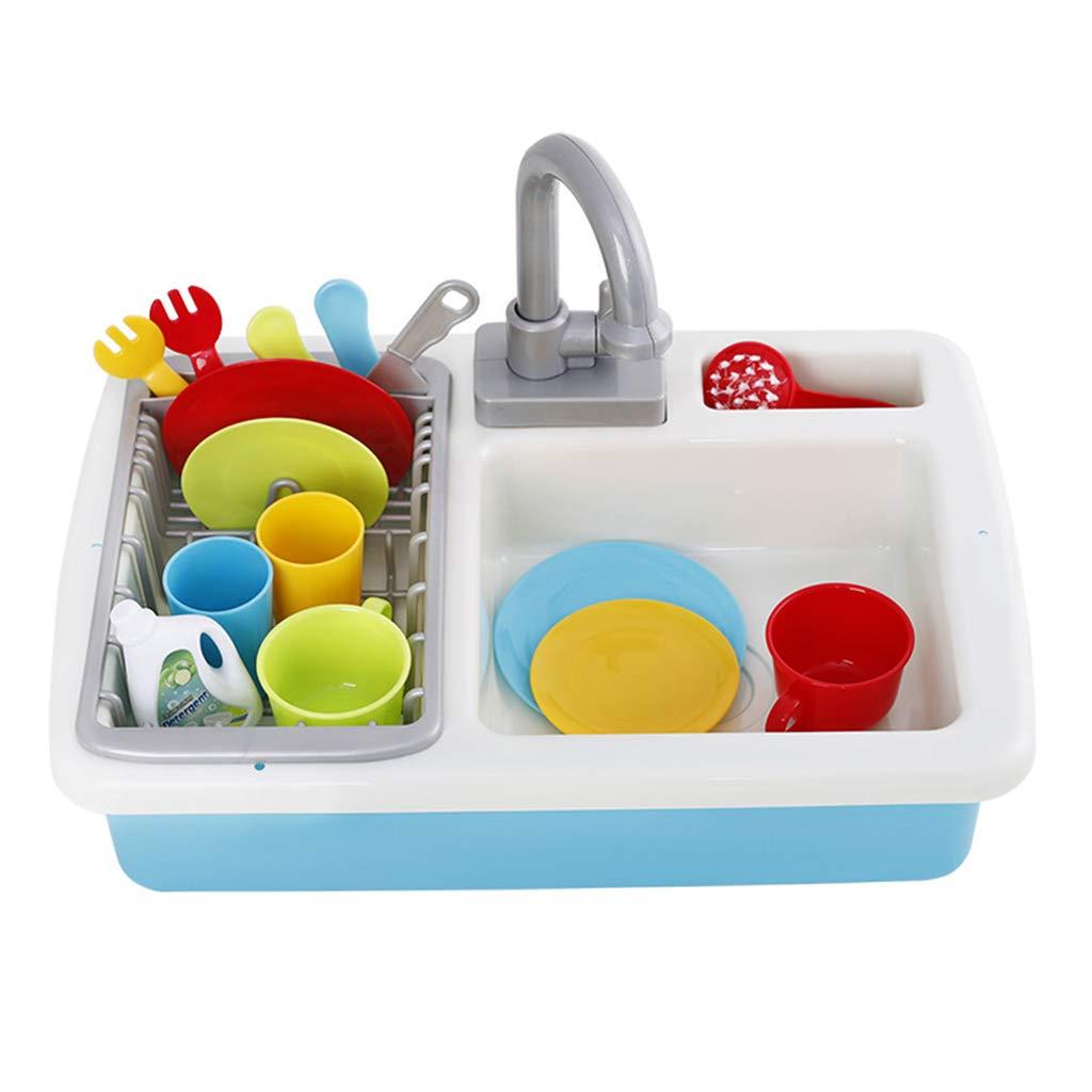 Homyl Elektrische Spüle Spielzeug Spielküche Spielküche Spielküche Kinderküche Spielzeug, Geschenk für Kinder c3d76c