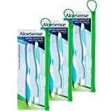 AloeSense Extra-Sensitive Toothbrush 2-pack w/ travel pouch (3 Count)