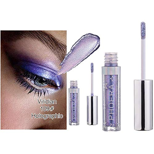 12 Colors Charm Magnificent Glitter And Glow Liquid Eyeshadow Pallet Eye Shadows Makeup Pallete