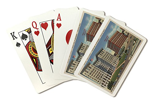 Seattle, WA - Hotel Holland and Municipal Bldgs (Playing Card Deck - 52 Card Poker Size with Jokers)