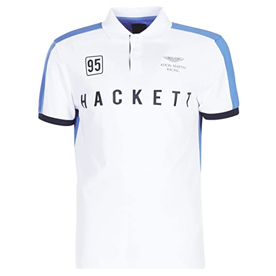 Hackett Martin de Aston Racing Polo de Hombre de Multi Panel ...