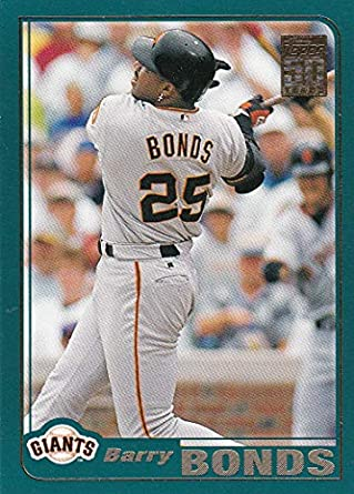 356a113ab15 2001 Topps San Francisco Giants Team Set with Barry Bonds   Jeff Kent - 23  Cards