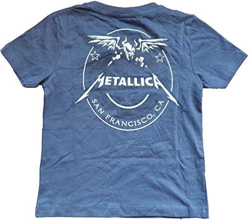 Metallica - Logo azul para niños: Amazon.es: Ropa y accesorios