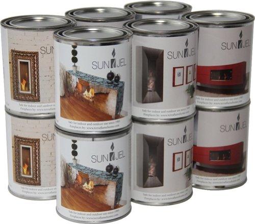 TerraFlameSunJel 13 Oz Gel Fuel Cans by SunJel