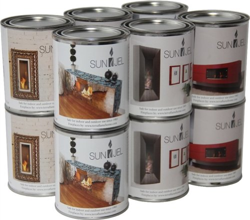 SunJel 13 Oz Gel Fuel Cans