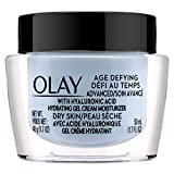 Facial Moisturizer With Hyaluronic Acid - Olay Age Defying Advanced Gel Cream Moisturizer with Hyaluronic Acid for Dry Skin, 50 Ml, 1.7 Fluid Ounce
