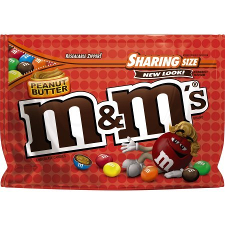 M&M's Peanut Butter Candies (Pack of 24) by Generic (Image #1)