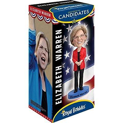 Royal Bobbles Elizabeth Warren Bobblehead: Toys & Games