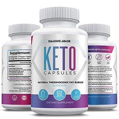 Keto Burn Diet Pills - Advanced Keto Weight Loss- Ketogenic Fat Burner- Burn Fat Instead of Carbs - Ketosis Supplement - 30 Day Supply