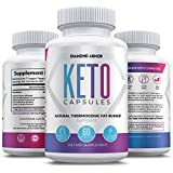Keto Burn Diet Pills - Advanced Keto Weight Loss- Ketogenic Fat Burner- Burn Fat Instead of Carbs - Ketosis Supplement - 30 Day Supply