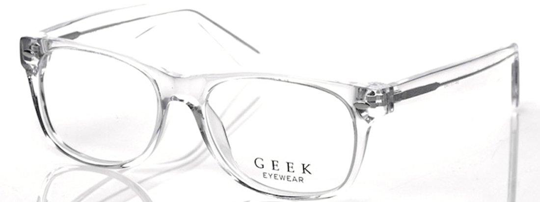 Geek Eyewear Rad09 Eyeglasses Crystal Clear