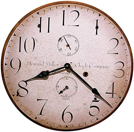 Howard Miller Original III Wall Clock 620-314 Fade Resistant Ink