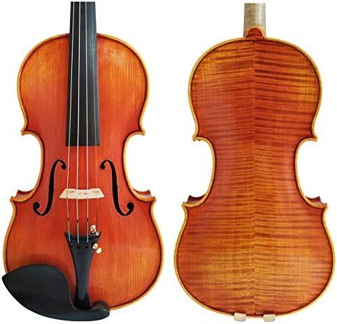 WENZBAWX Copiar Stradivarius 1716 Barniz de espíritu hecho a mano de madera de violín con estuche de espuma y arco: Amazon.es: Instrumentos musicales
