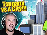 Clip: Tsunami vs. Minecraft City Challenge with Tiny Turtle
