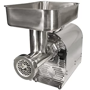 Weston (08-0801-W)  Pro Series Electric Meat Grinders (1/2-HP, 550 Watts) - Silver