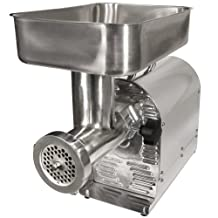 Weston No. 8 Commercial Meat Grinder and Sausage Stuffer, 3/4 HP