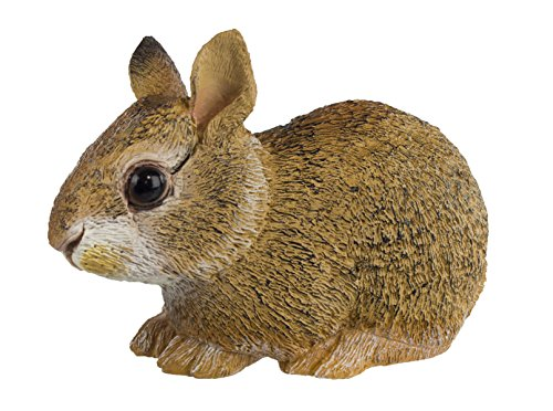 Safari Ltd Incredible Creatures Collection – Eastern Cottontail Rabbit Baby – Realistic and Life-Size – Hand Painted Toy Figurine Model – Quality Construction From Safe and BPA Free Materials – For Ages 3 and (Baby Jack Jack From The Incredibles)