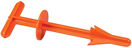 Butt Out 2 Big Game Dressing Tool Orange