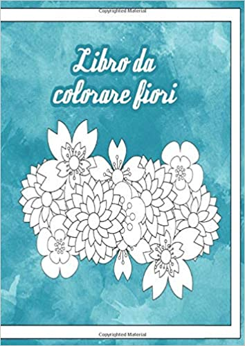 Libro Da Colorare Fiori Mandala Da Colorare Adulti Con 60