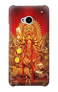 S1030 Hindu God Durga Puja Case Cover For HTC ONE M7