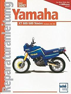 clymer yamaha xt 600 tt600 1983 89 service repair maintenance rh amazon co uk Motorcycle Yamaha 600 Tenere Yamaha 600 Tenere Fuel Capacity