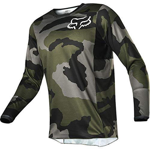 Youth Off Road Mens Jerseys - Fox Racing 2019 180 Jersey - Przm Camo SE (Small)