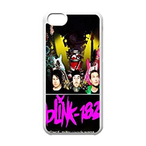 FOR Iphone 5c -(DXJ PHONE CASE)-Love Music - Blink 182 Music Band-PATTERN 4