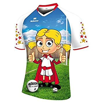 newest collection 76a22 04e10 Tyrone GAA Future All Star Jersey - Girls: Amazon.co.uk ...