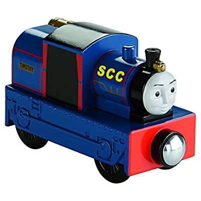 Fisher-Price Thomas & Friends Wooden Railway, Timothy-Tracks To Bravery: Toys & Games
