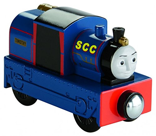 Thomas & Friends Fisher-Price Wooden Railway Timothy-Tracks To Bravery