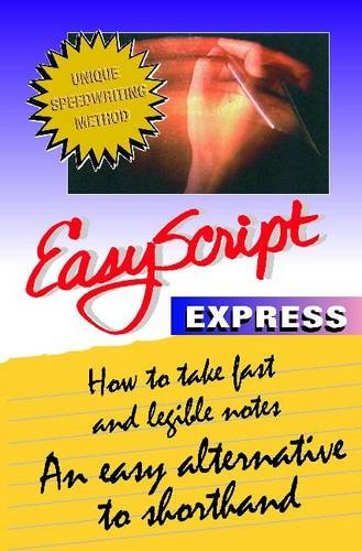 Pdf Teaching EasyScript Express: How to Take Fast and Legible Notes Notes